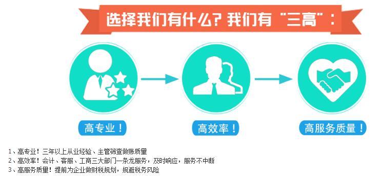 【】深圳代理记账公司服务内容和收费标准